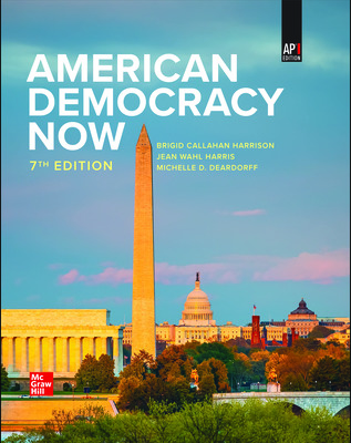 American Democracy Now (Harrison) cover