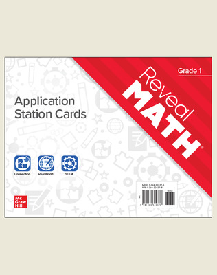 Reveal Math Application Station Cards, Grade 1