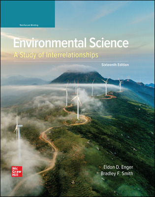 Environmental Science: A Study of Interrelationships (Enger) cover