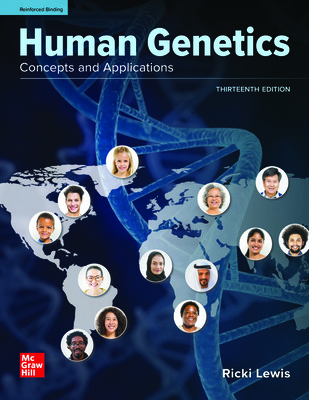 Human Genetics: Concepts and Applications (Lewis) cover