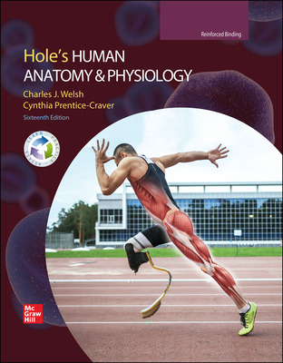 Welsh, Hole's Human Anatomy and Physiology, 2022, 16e, Student Ed