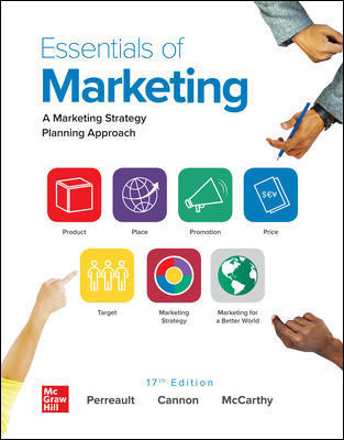 CUS Essentials of Marketing 1-year Standalone Connect OSE