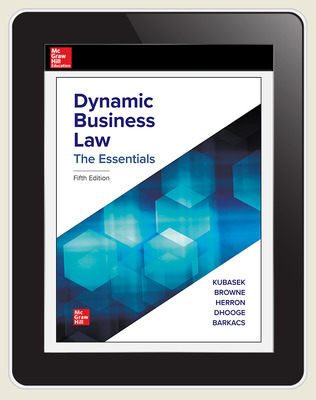 CUS Dynamic Business Law, The Essentials 1-year Standalone Connect OSE