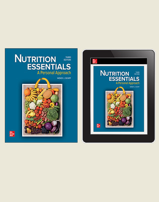 CUS Nutrition Essentials, A Personal Approach, Print and Digital Student Bundle, 1-year subscription