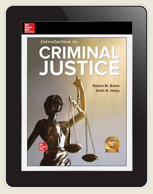 CUS Introduction to Criminal Justice 1-year Standalone Connect OSE