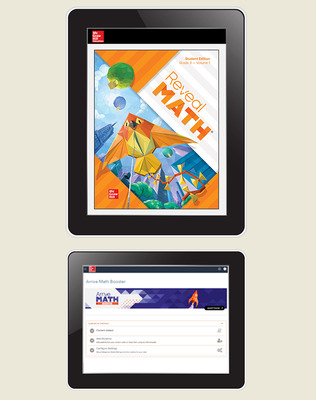 Reveal Math, Grade 3, Student Digital Bundle with Arrive Math Booster, 6-years