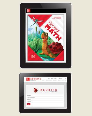 Reveal Math, Grade 1, Student Digital Bundle with Redbird, 1-year