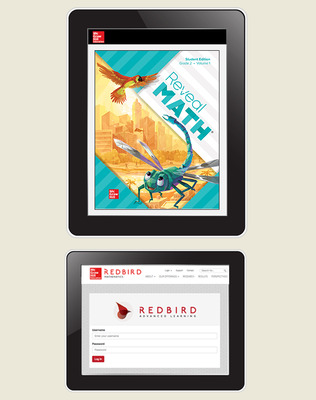 Reveal Math, Grade 2, Student Digital Bundle with Redbird, 1-year
