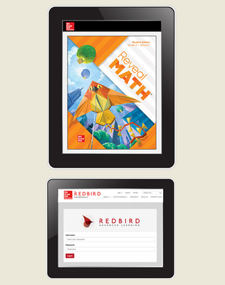 Reveal Math, Grade 3, Student Digital Bundle with Redbird, 1-year