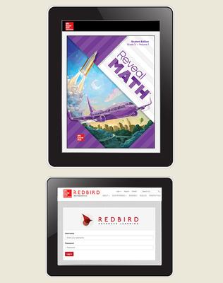 Reveal Math, Grade 5, Student Digital Bundle with Redbird, 1-year