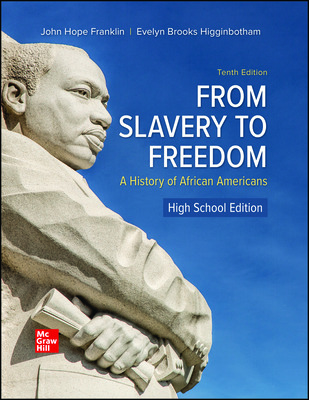 From Slavery to Freedom: A History of African Americans, High School Edition (Franklin) cover