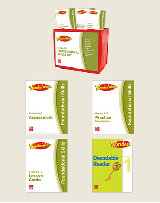 Wonders Works Grades 2-3 Foundational Skills kit package