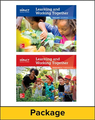 IMPACT Social Studies, Learning and Working Together, Grade K, Inquiry Journal & Research Companion