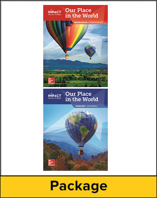 IMPACT Social Studies, Our Place in the World, Grade 1, Inquiry Journal & Research Companion