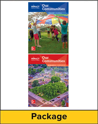 IMPACT Social Studies, Our Communities, Grade 3, Inquiry Journal & Research Companion