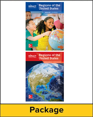 IMPACT Social Studies, Regions of the United States, Grade 4, Inquiry Journal & Research Companion