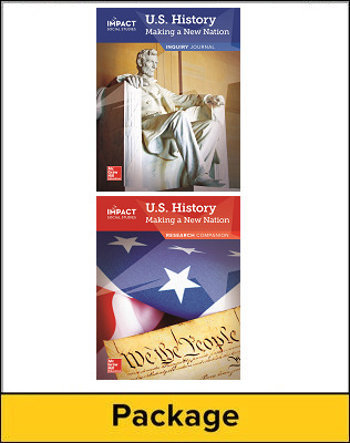 IMPACT Social Studies, U.S. History: Making a New Nation, Grade 5, Inquiry Journal & Research Companion