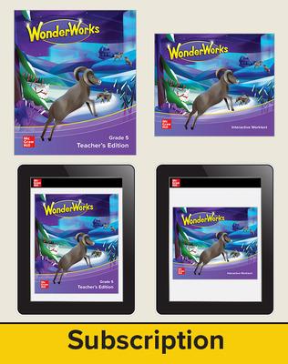 WonderWorks Grade 5 Rollover Bundle with 4 Year Subscription