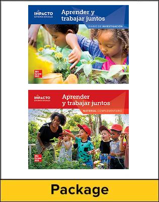 IMPACTO Social Studies, Aprender y trabajar juntos, Inquiry Journal and Research Companion, Grade K