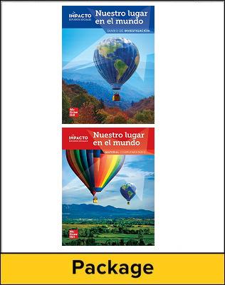 IMPACTO Social Studies, Nuestro lugar en el mundo, Grade 1, Inquiry Journal & Research Companion