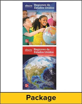 IMPACTO Social Studies, Regiones de Estados Unidos, Grade 4, Inquiry Journal & Research Companion