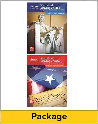 IMPACTO Social Studies, Historia de Estados Unidos: la creación de una nueva nación, Grade 5, Inquiry Journal & Research Companion