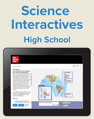 High School Science Student Virtual Labs, 1-yr must have teacher subscription to purchase
