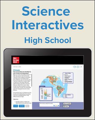 Inspire Science High School Virtual Lab, 1 Teacher, 1 Student Digital Bundle, 2 Year Subscription