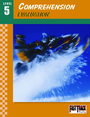 Fast Track Reading, Comprehension Evaluation Guides: Level 5