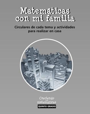 Growing with Math, Grade 5, Spanish Home Links