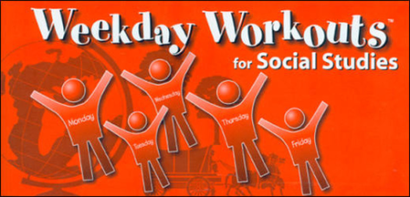 Weekday Workouts for Social Studies - Student Booklet Grade 1