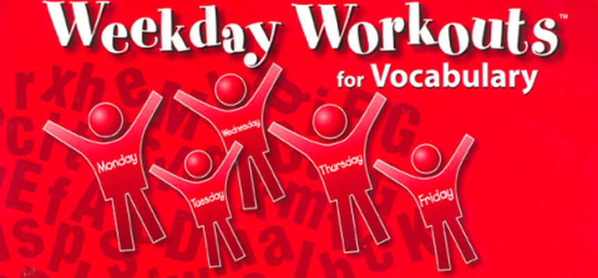 Weekday Workouts for Vocabulary - Student Booklet Grade 3