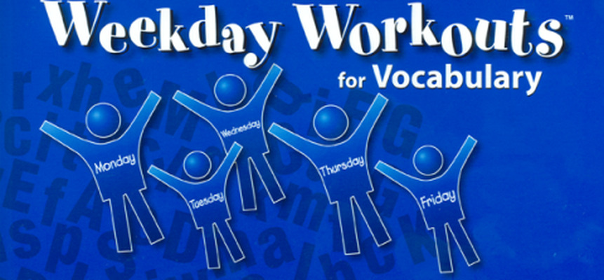 Weekday Workouts for Vocabulary - Student Booklet Grade 4