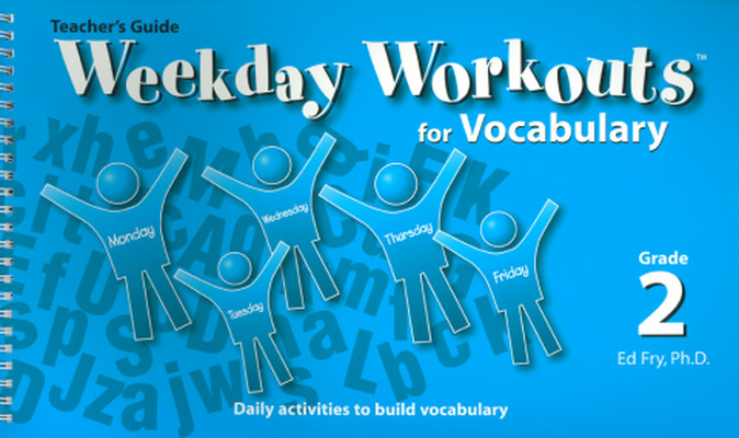 Weekday Workouts for Vocabulary - Teacher Guide Grade 2