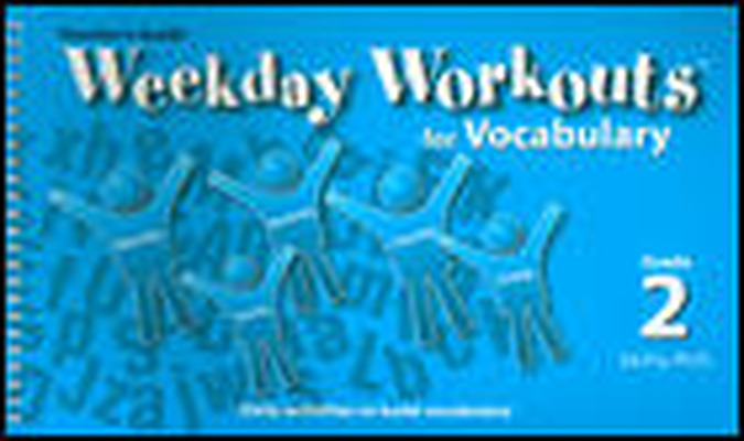 Weekday Workouts for Vocabulary - Class Set Grade 2
