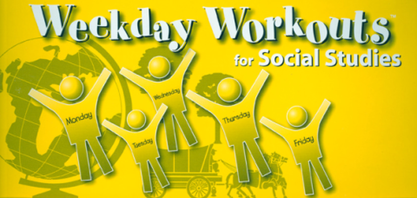 Weekday Workouts for Social Studies - Student Booklet 10-Pack Grade 5