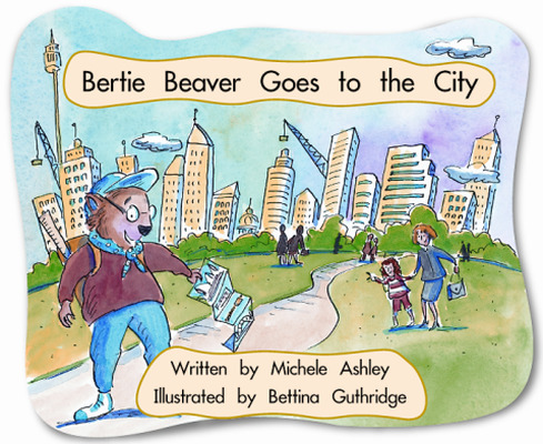 Springboard, Bertie Beaver Goes to the City (Level D) 6-pack