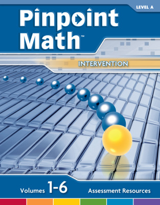 Pinpoint Math Grade 1/Level A, Assessment Resources