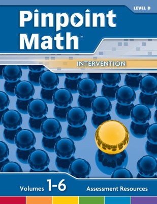 Pinpoint Math Grade 4/Level D, Assessment Resources