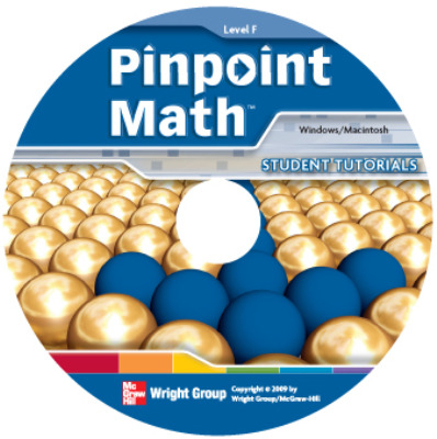 Pinpoint Math Grade 6/Level F, Interactive Tutorial CD