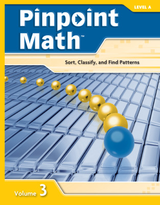 Pinpoint Math Grade 1/Level A, Student Booklet Volume III