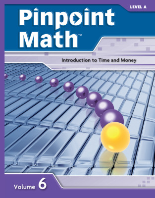 Pinpoint Math Grade 1/Level A, Student Booklet Volume VI