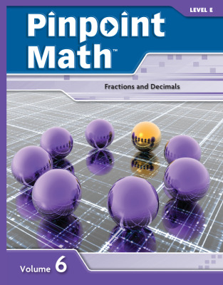 Pinpoint Math Grade 5/Level E, Student Booklet Volume VI