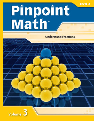 Pinpoint Math Grade 7/Level G, Student Booklet Volume III