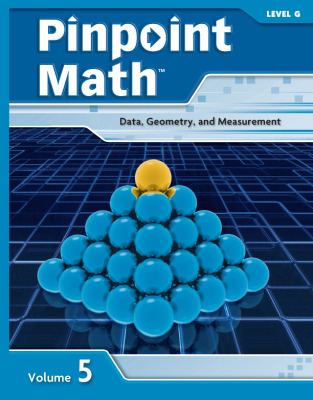 Pinpoint Math Grade 7/Level G, Student Booklet Volume V