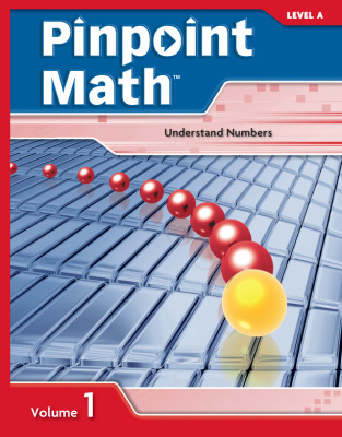 Pinpoint Math Grade 1/Level A, Student Booklet Volume I (5-pack)