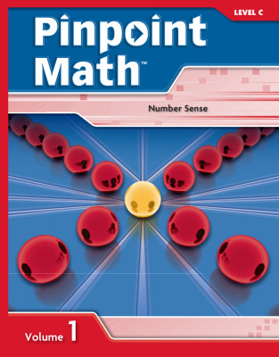 Pinpoint Math Grade 3/Level C, Student Booklet Volume I (5-pack)