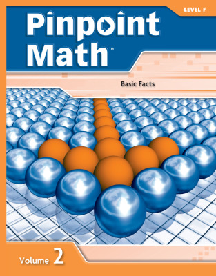 Pinpoint Math Grade 6/Level F, Student Booklet Volume II (5-pack)