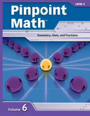 Pinpoint Math Grade 3/Level C, Student Booklet Volume VI (5-pack)