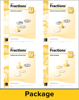 Key to Fractions, Books 1-4 Set